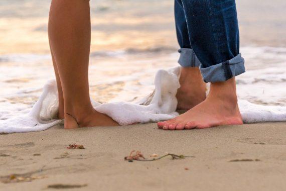 התועלת של עיסוי בכפות הרגליים